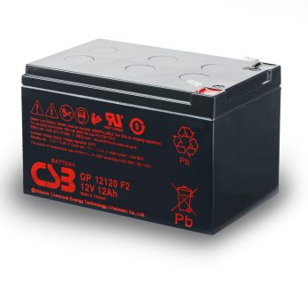 APC UPS RBC4 Replacement battery 1x CSB GP12120 F2 terminal