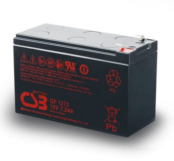 APC UPS RBC2/RBC110/RBC114 Replacement battery 1x CSB GP1272 F2 terminal