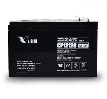 APC UPS RBC4 Replacement battery 1x VISION CP12120 F2 terminal