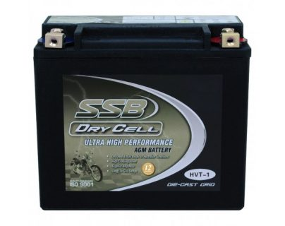SSB HVT-1 Ultra High Performance AGM Motorcycle Battery – CCA: 450