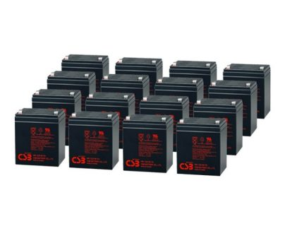 APC UPS RBC44/RBC140 Replacement battery 16x CSB HR1221W F2 terminal