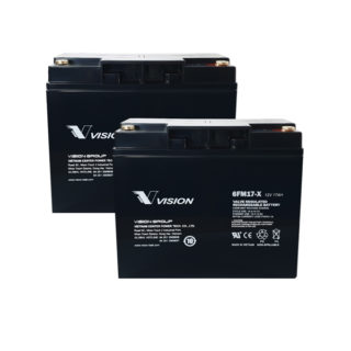 APC UPS RBC7 Replacement battery 2x VISION 6FM17X M5 terminal