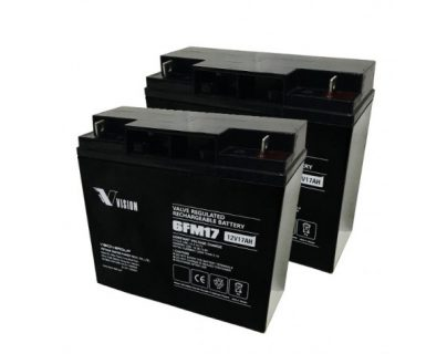 APC UPS RBC7 Replacement battery 2x VISION 6FM17 B1 terminal