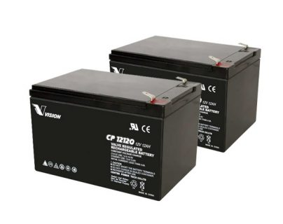 APC UPS RBC6 Replacement battery 2x VISION CP12120 F2 terminal