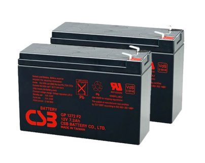 APC UPS RBC5/RBC9/RBC22/RBC32/RBC33/RBC48/RBC123 Replacement battery 2x CSB GP1272 F2 terminal