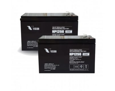 APC UPS RBC109 Replacement battery 2x VISION HP1250 F2 terminal