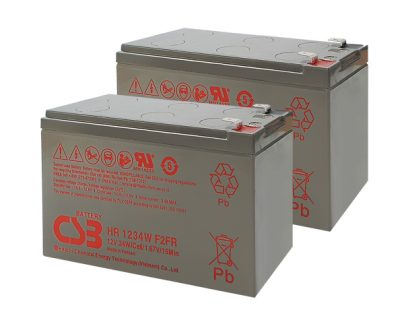 APC UPS RBC109 Replacement battery 2x CSB HR1234W F2 terminal
