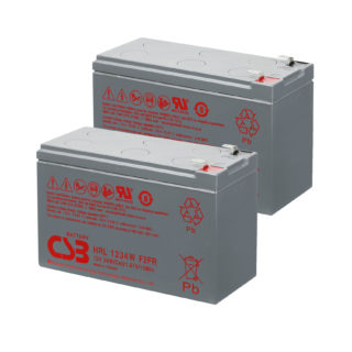 APC UPS RBC109 Replacement battery 2x CSB HRL1234W F2 terminal