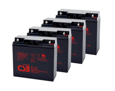 APC UPS RBC11/RBC55/SMARTCELL Replacement battery 4x CSB GP12170 B1 terminal