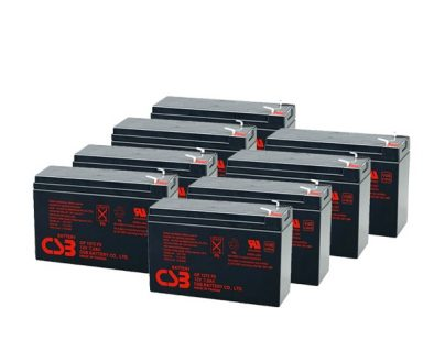 APC UPS RBC12/RBC27 Replacement battery 8x CSB GP1272 F2 terminal