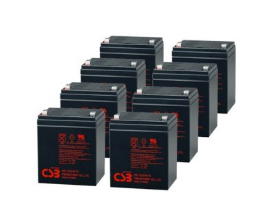 APC UPS RBC43 Replacement battery 8x CSB HR1221W F2 terminal
