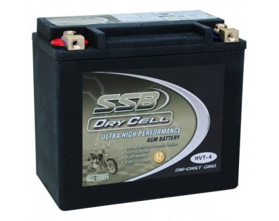 SSB HVT-4 Ultra High Performance AGM Motorcycle Battery – CCA: 425
