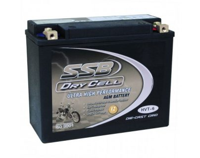 SSB HVT-6 Ultra High Performance AGM Motorcycle Battery – CCA: 490